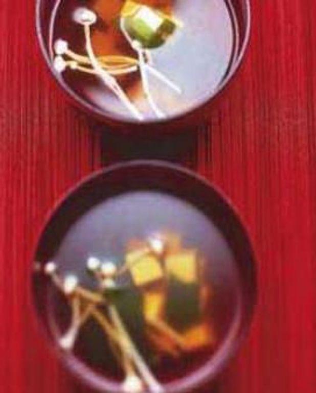 Bouillon miso shiru