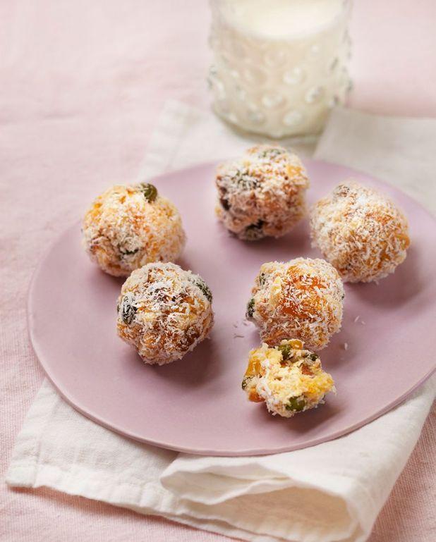 Boulettes aux abricots secs