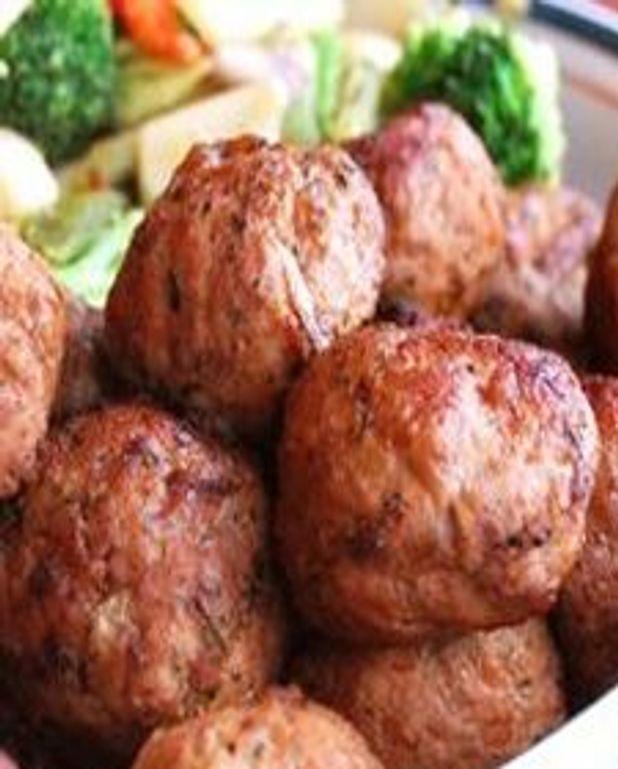 Boulettes de porc, érable et gingembre