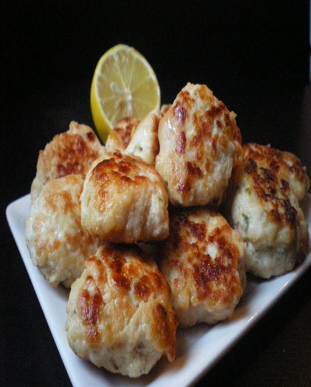 Boulettes de poulet au citron