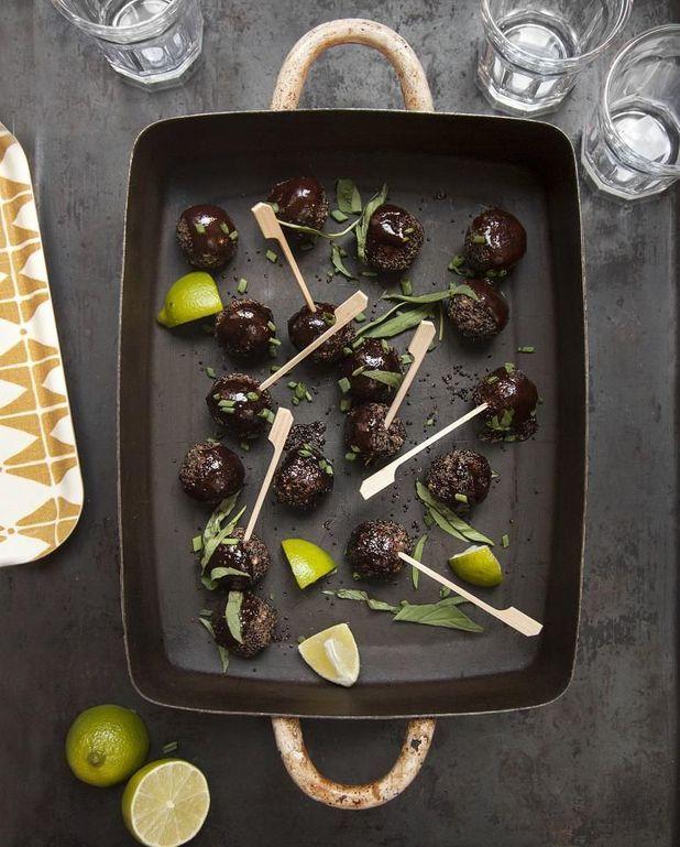 Boulettes haricots noirs-quinoa