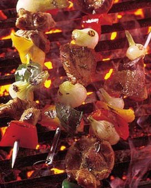 Brochettes d'échine de porc