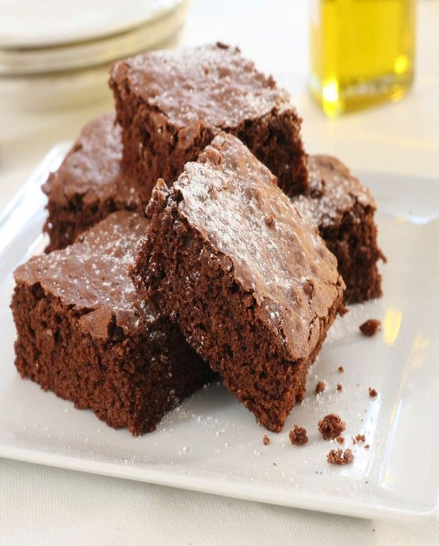 Brownie à l'huile d'olive extra vierge