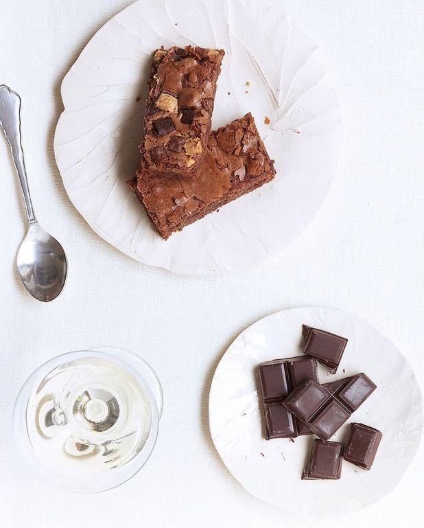 Brownie aux pépites de chocolat de Trish Deseine