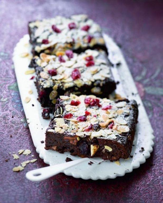 Brownies aux fruits secs