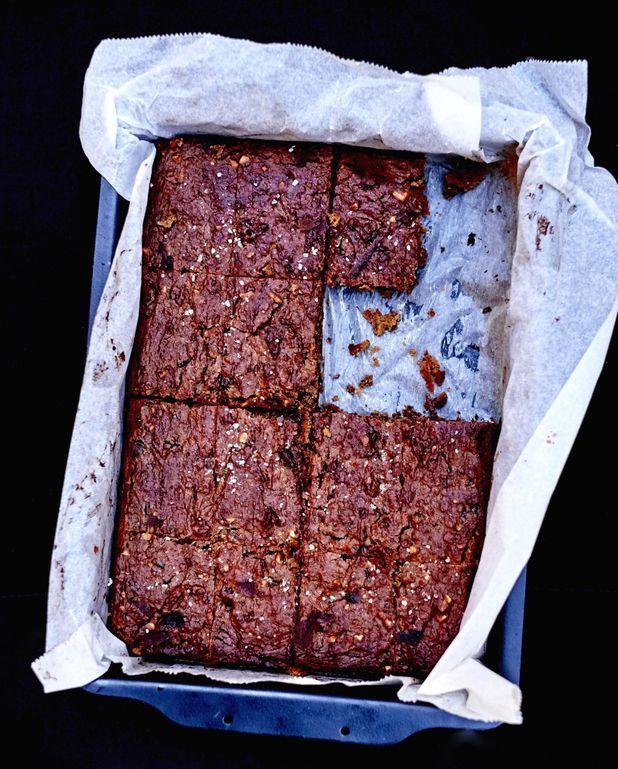 Brownies sans gluten beurre de cacahuète et chocolat