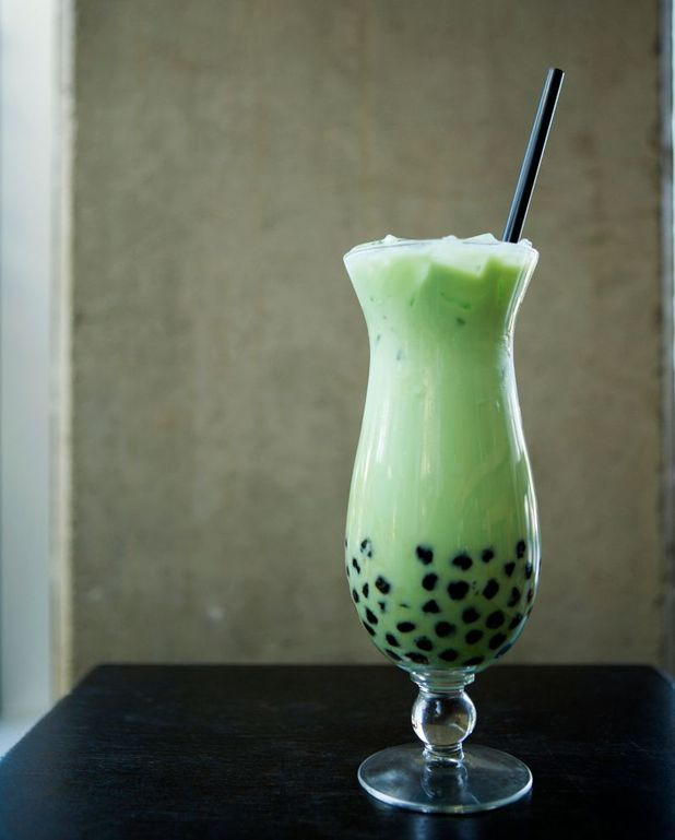 Bubble tea matcha