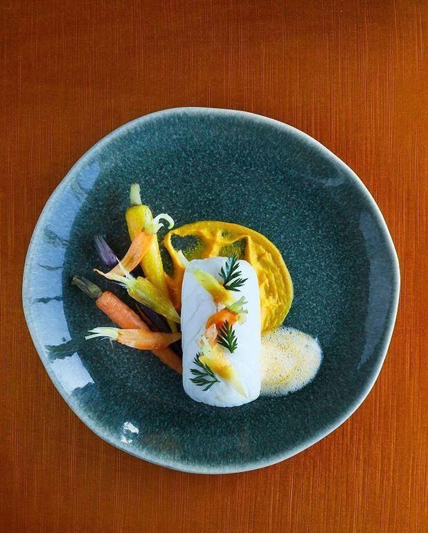 Cabillaud, carottes et orange