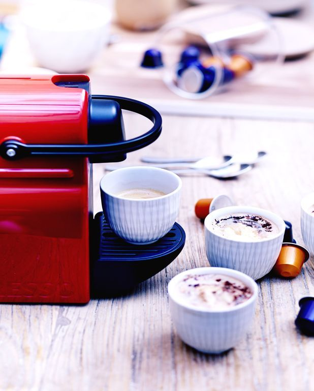 Café affogato et cacao