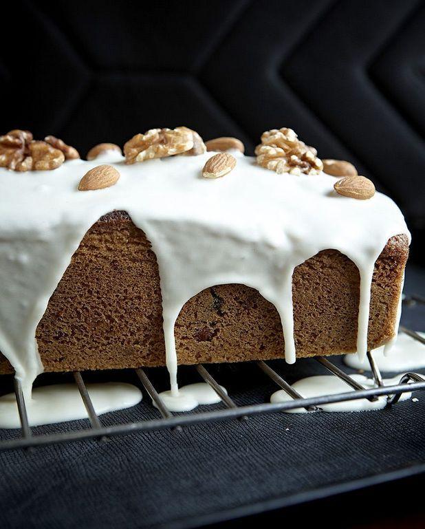 Cake à la châtaigne et aux noix Thermomix