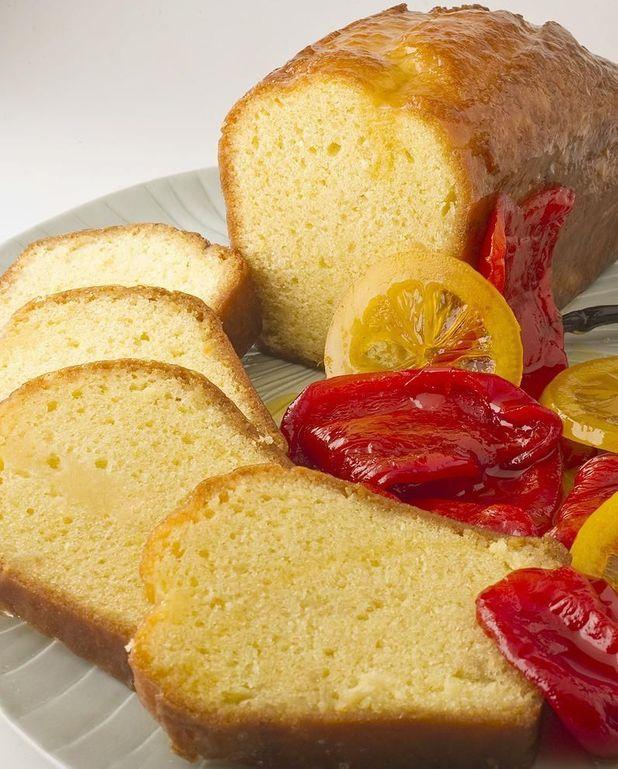 Cake au citron de Pierre Gagnaire