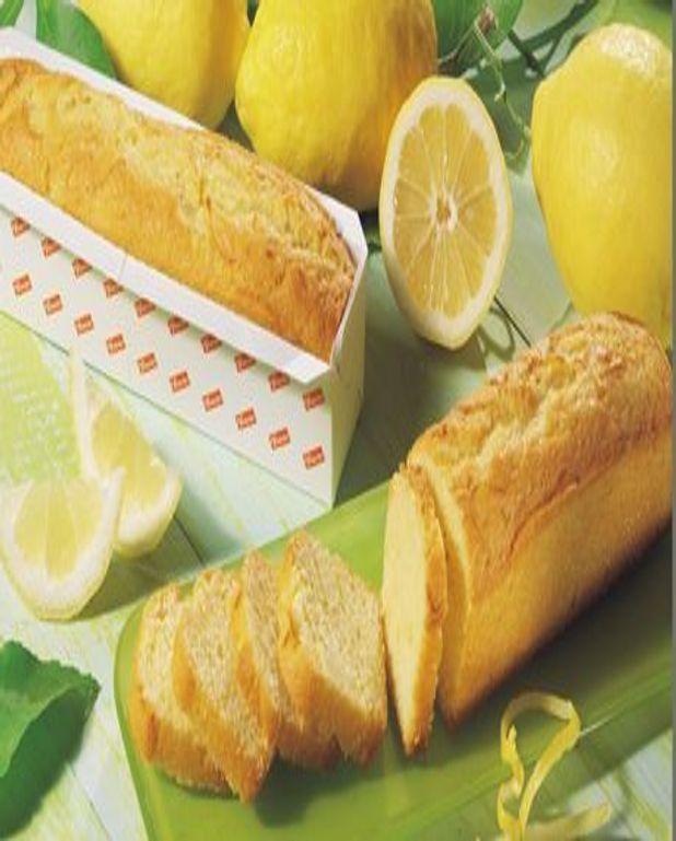 Cake au citron - recette spéciale pour machine à pain