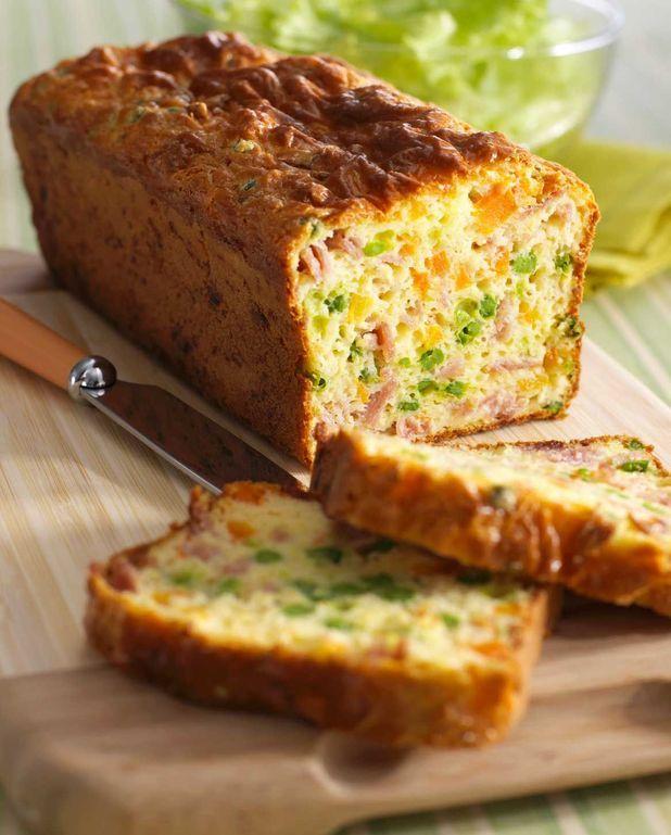 Cake au jambon Thermomix