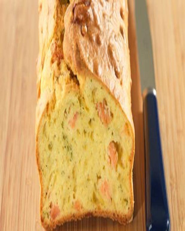 Cake au saumon et à l'aneth - Recette spéciale pour machine à pain