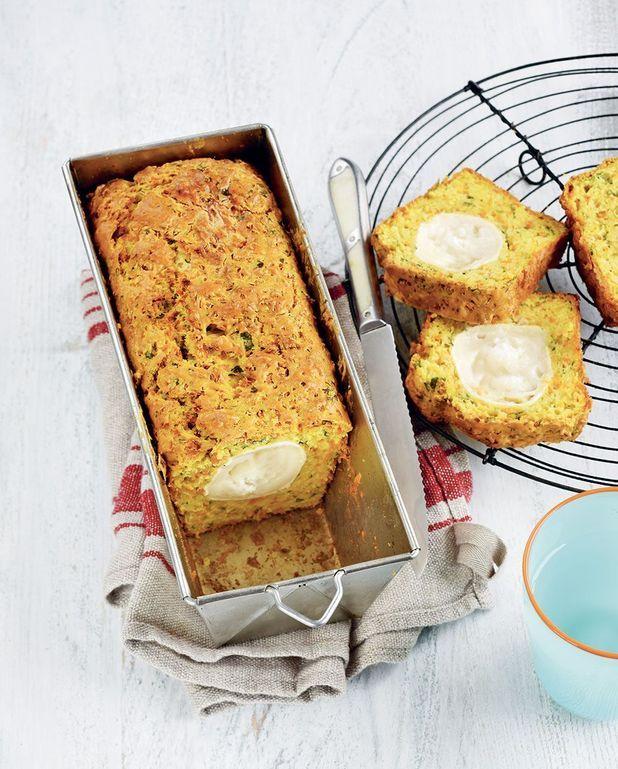 Cake aux carottes, persil et chèvre Thermomix