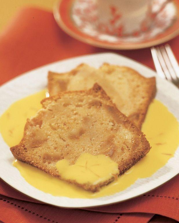 Cake aux poires caramélisées