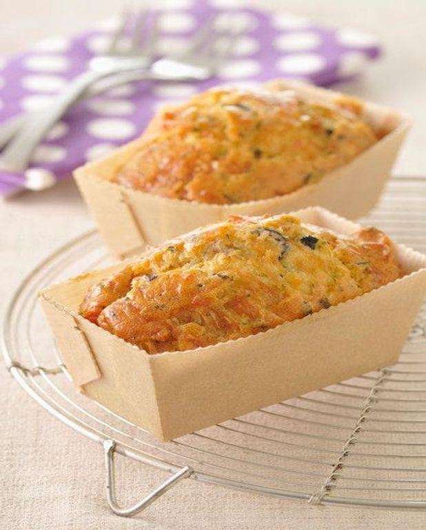 Cake aux tomates confites
