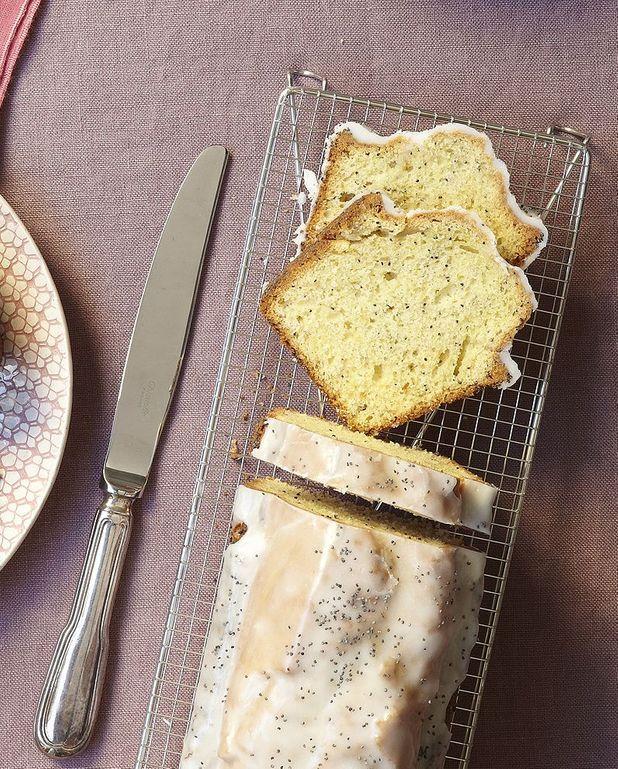 Cake citron jaune et pavot