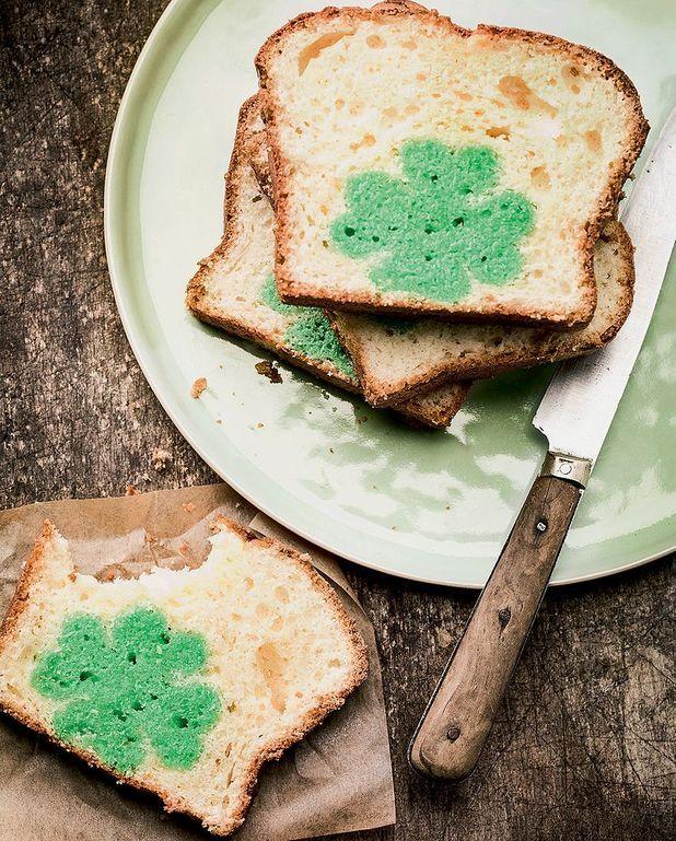 Cake de la Saint-Patrick