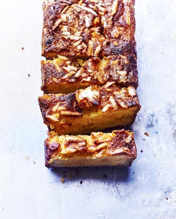 Cake poires-oranges confites