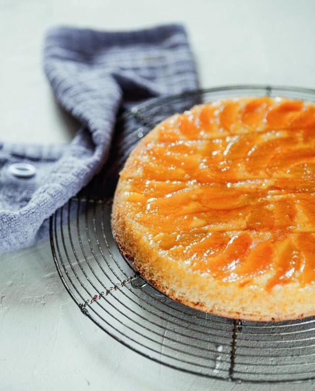 Cake polenta abricot et caramel de Christophe Michalak