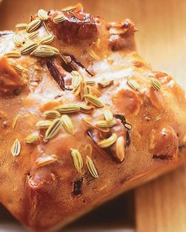 Cakes sucrés fruits secs-anis