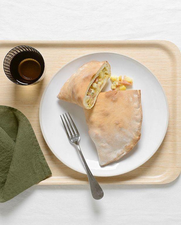 Calzone gorgonzola-poire