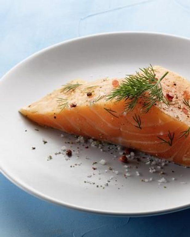 Carpaccio de pomelo et saumon