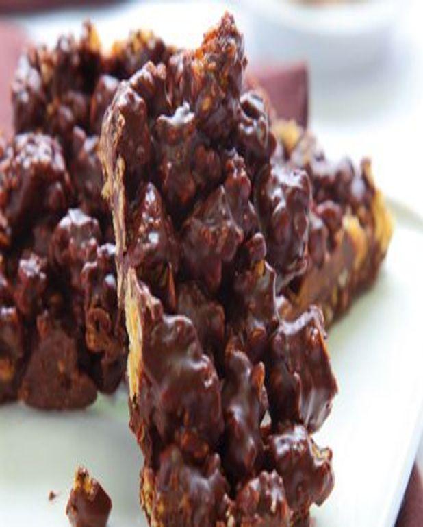 Carré chocolaté croustillant