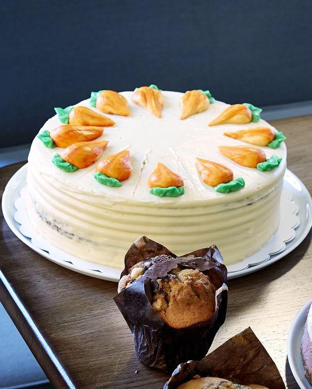 Carrot cake de Rachel's Cakes