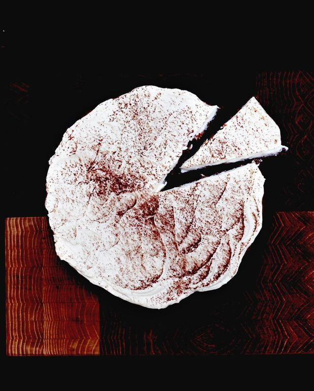 Carrot cake, glaçage chocolat blanc