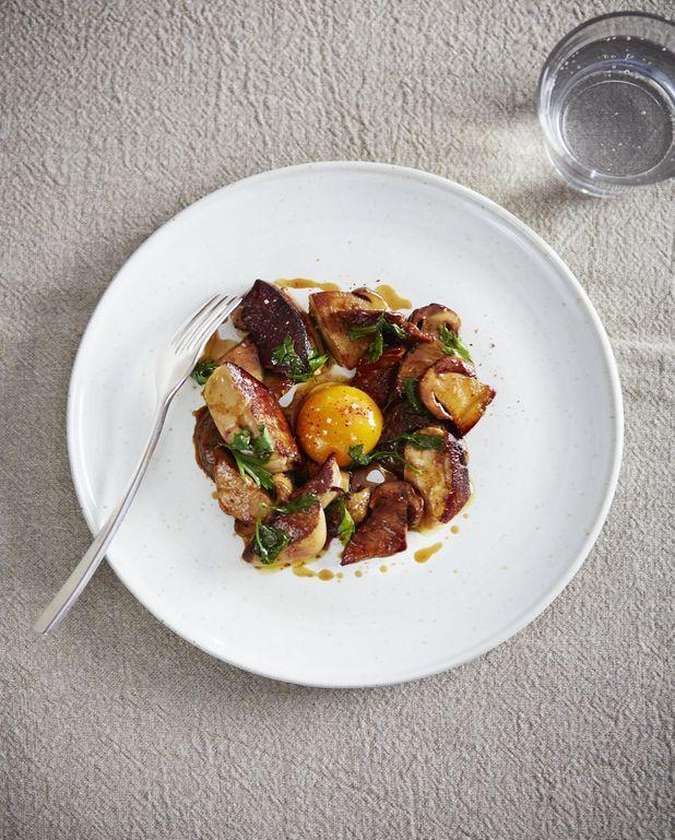 Cèpes et foie gras comme chez Amaïa