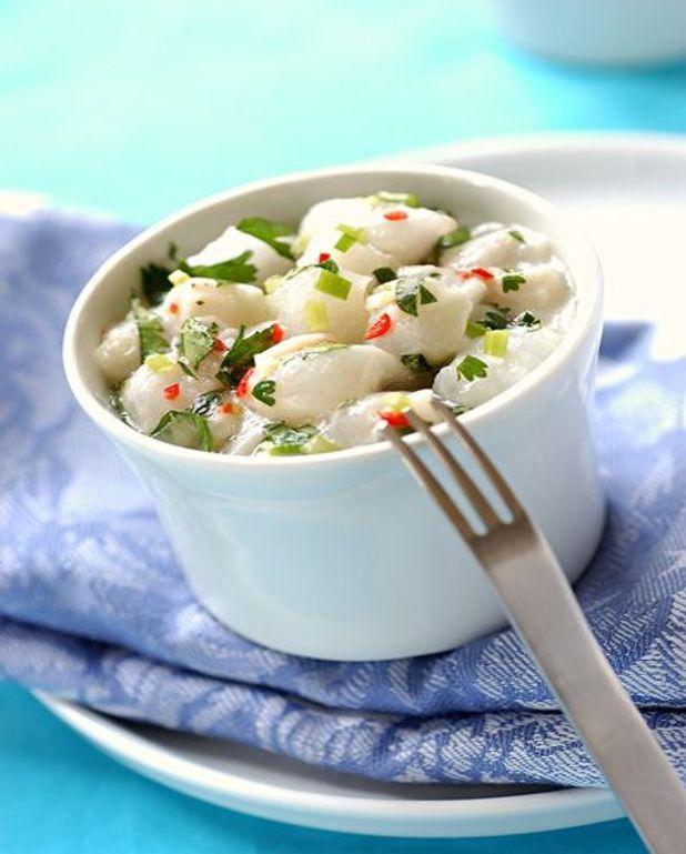 Ceviche de poisson à la tahitienne