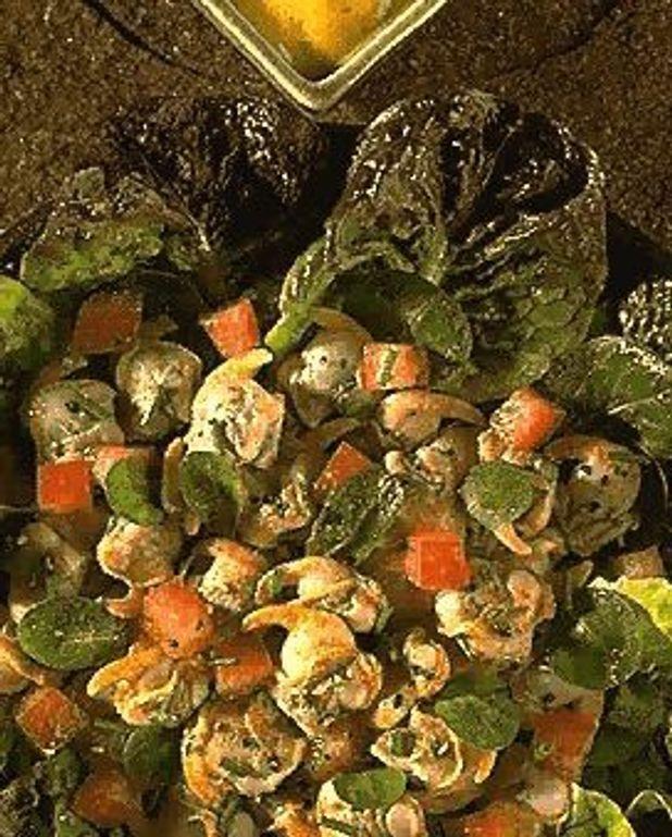Champignons aux escargots