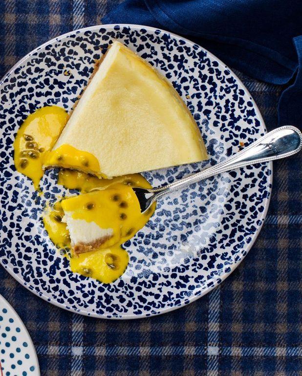 Cheesecake au fruit de la passion