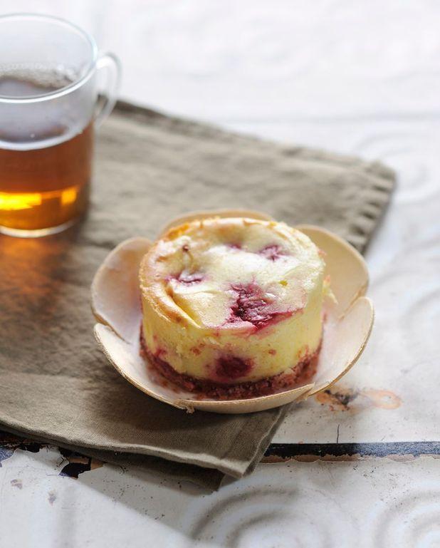 Cheesecake aux framboises