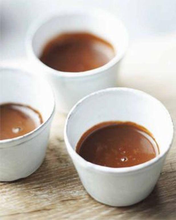 Chocolat chaud fouetté à l'eau