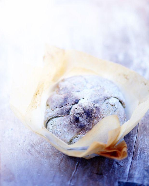 Chou-fleur en croûte de sel