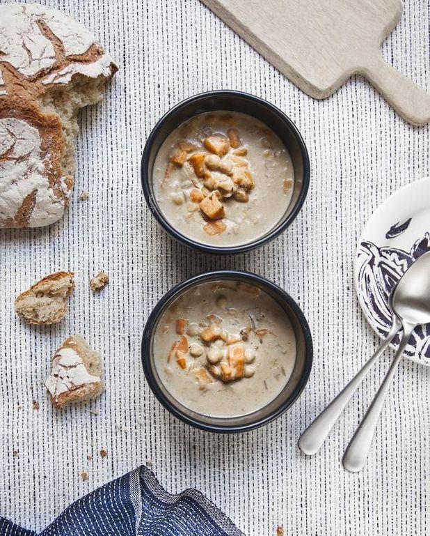 Chowder cajun aux patates douces
