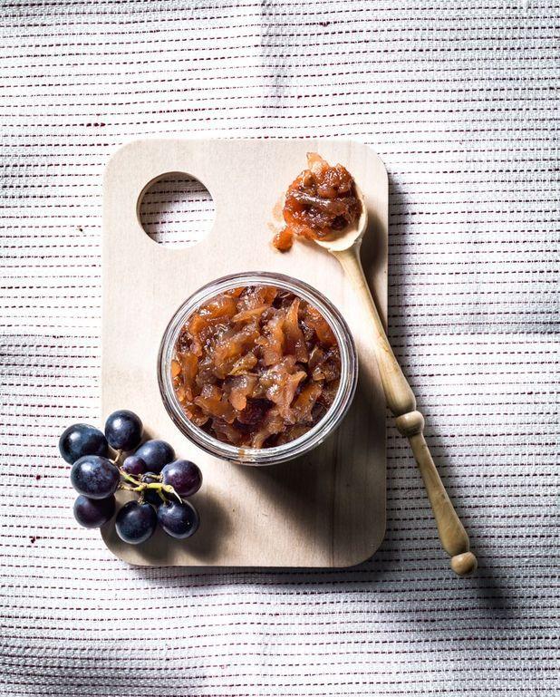 Chutney aux trois raisins