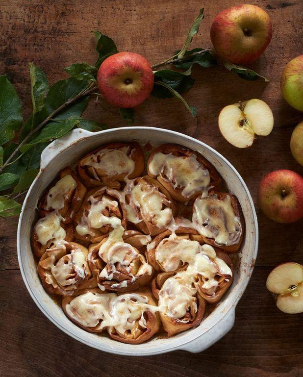 Cinnamon rolls aux pommes