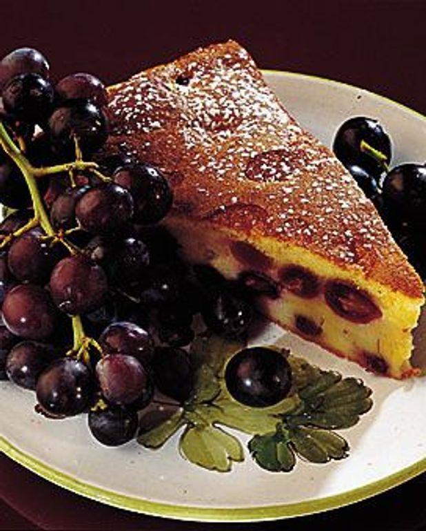 Clafoutis au raisin