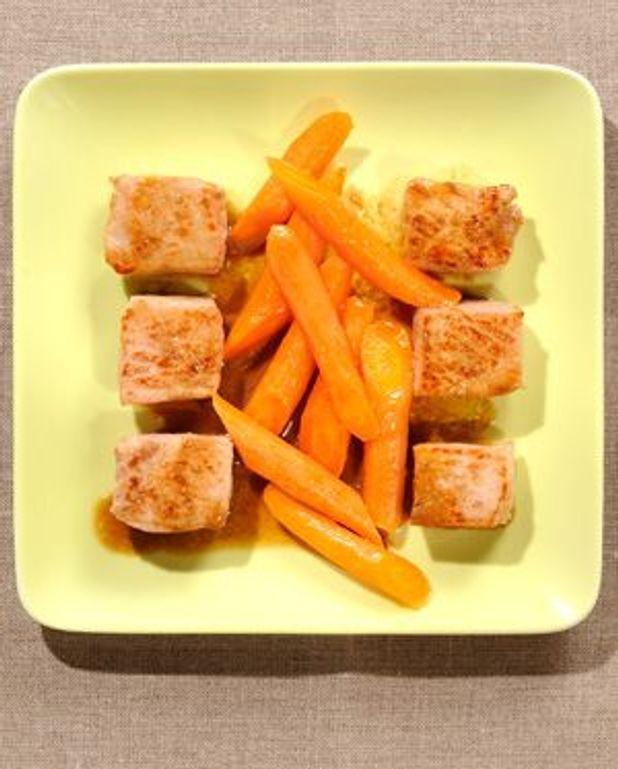 Cochon à la carotte