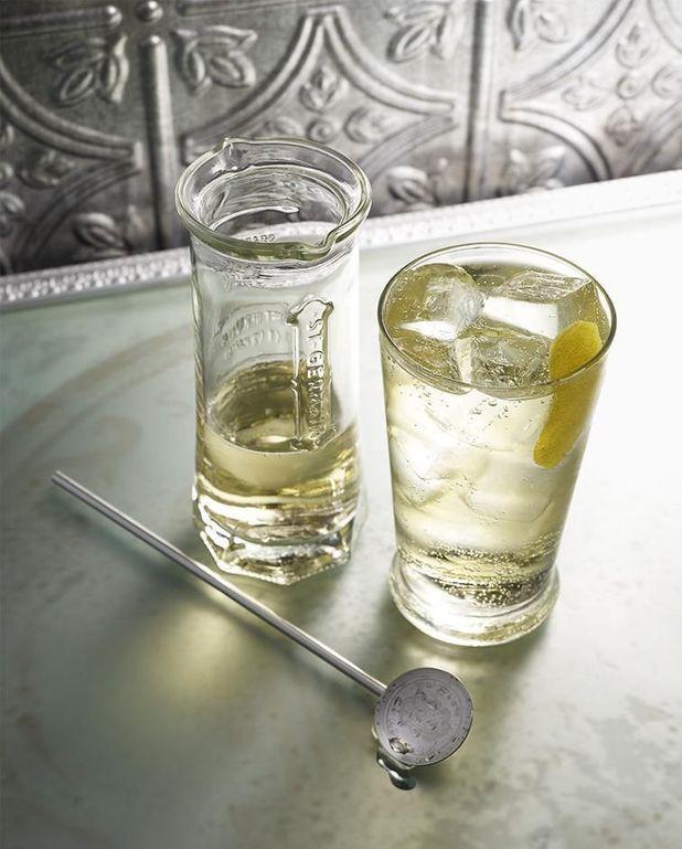 Cocktail à la liqueur de sureau