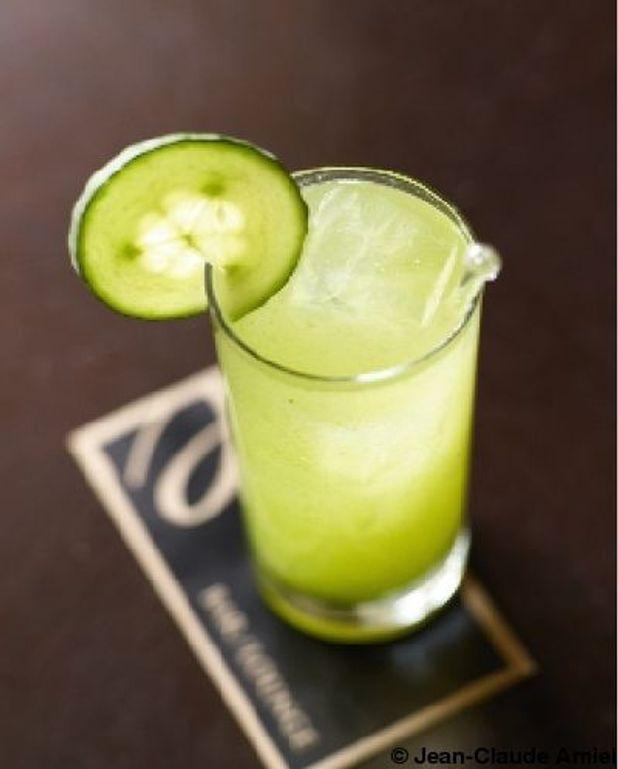 Cocktail au concombre