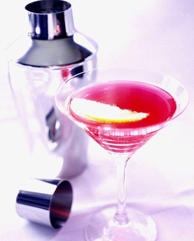 Cocktail au Martini rouge et tonic