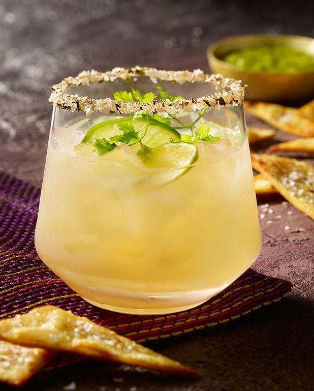 Cocktail Azteca tequila mangue citron vert