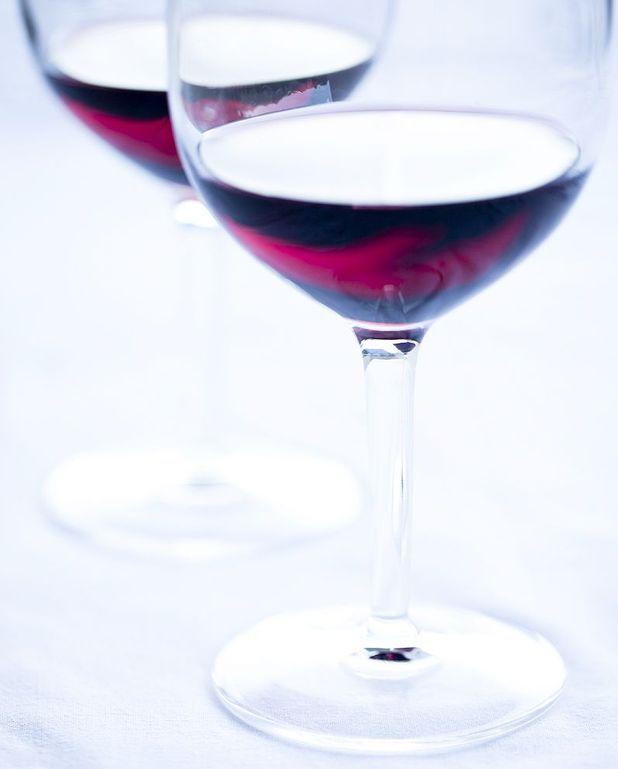 Cocktail communard au vin rouge