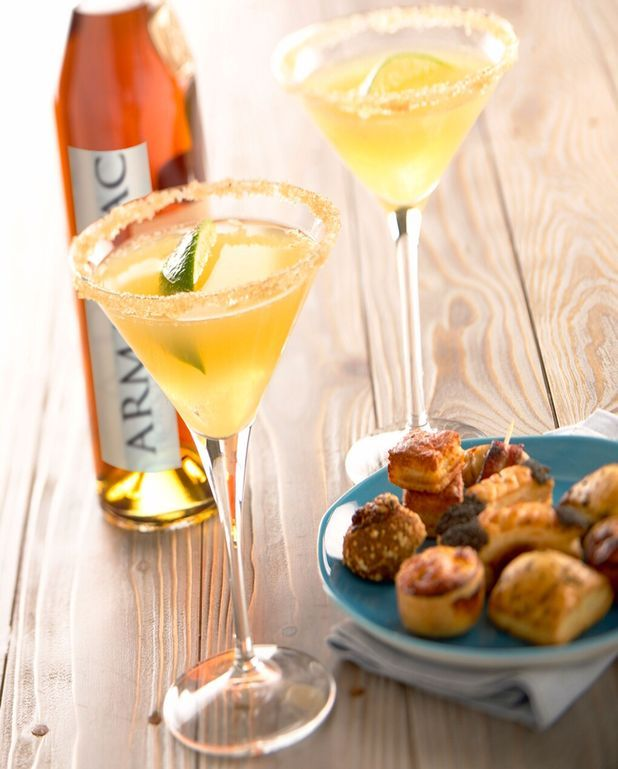 Cocktail d armagnac douceur