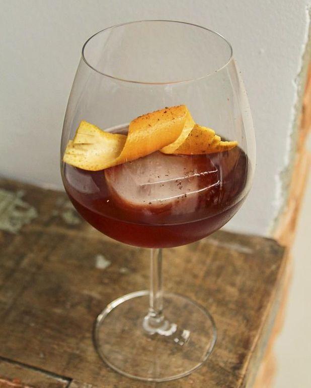 Cocktail « Eçauna » à la cachaça